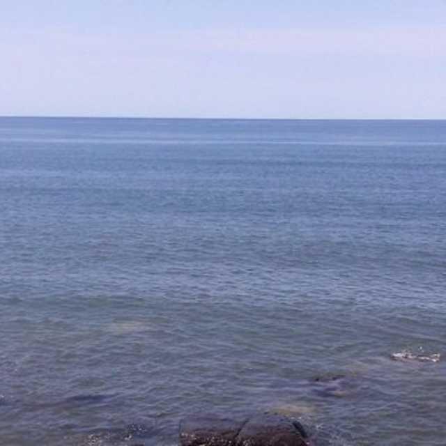 峰浜は斜里町中心部と