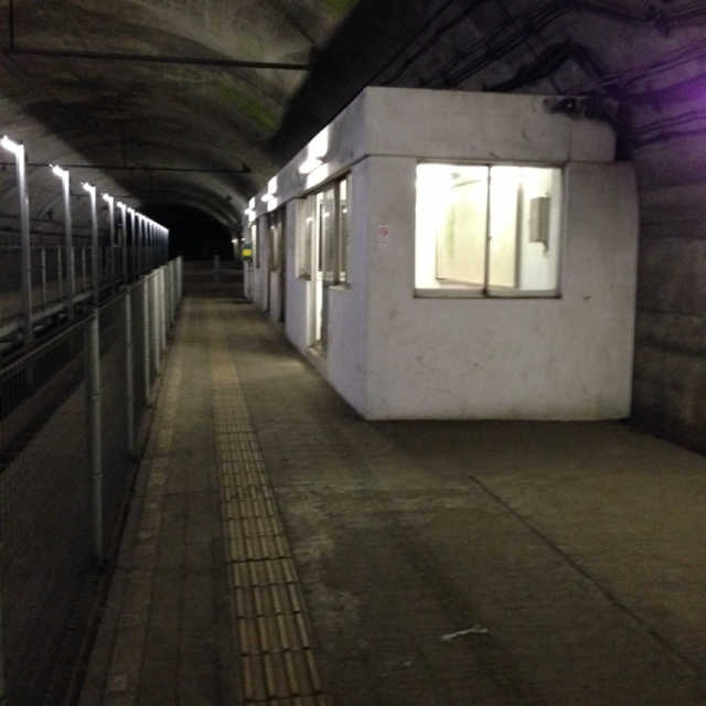 日本一のモグラ駅と言