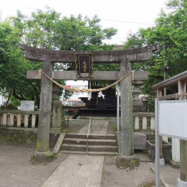 天満宮と厳島神社