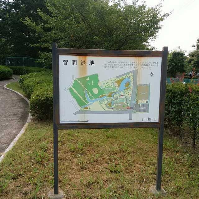 菅間緑地(^_^)