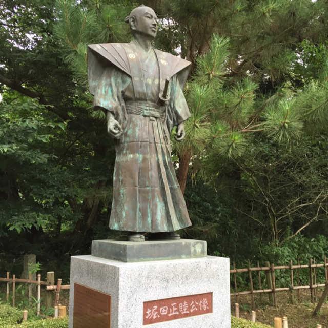 堀田正睦公像