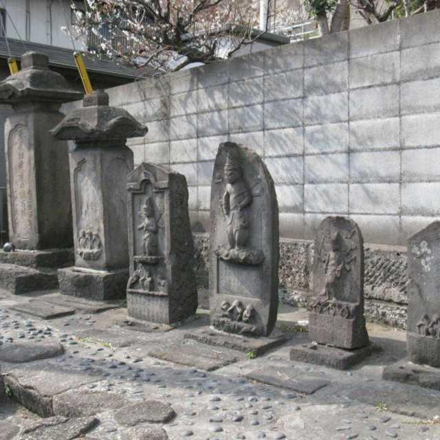 大坂の庚申塔群