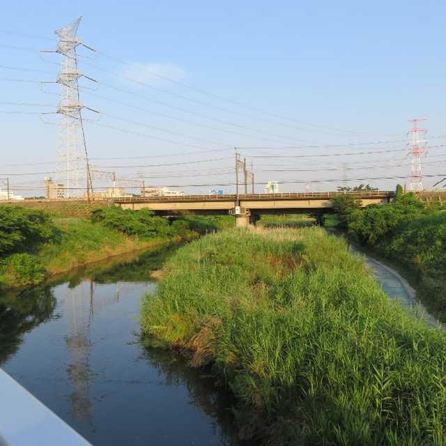 大堀川・かつての呼塚河岸