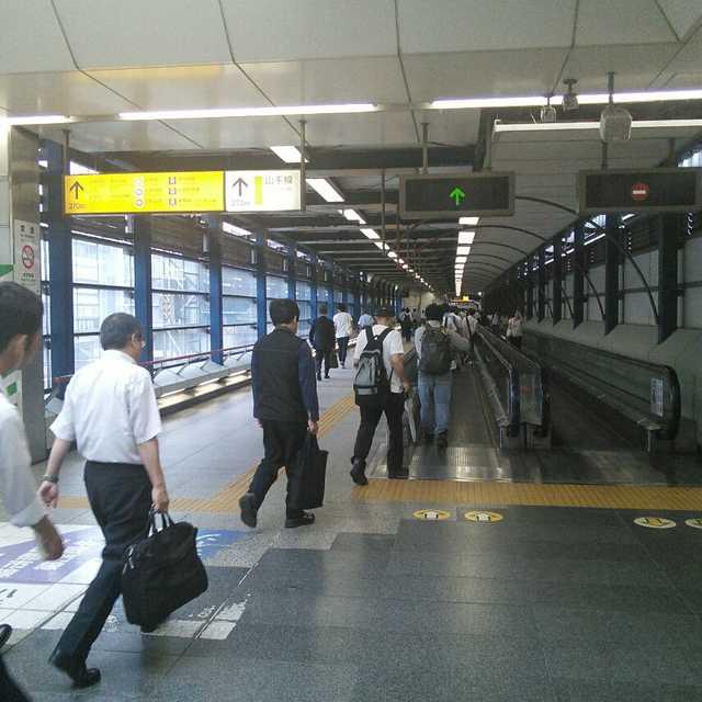 渋谷駅の埼京線からの