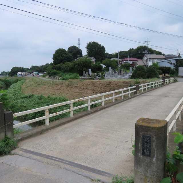 糸繰川の昭和橋