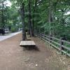 玉川上水緑道の小松橋