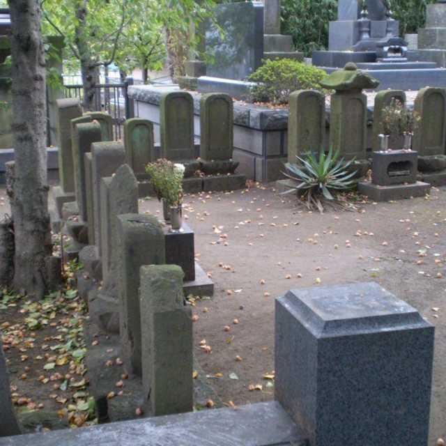 藤沢宿の遊女の墓
