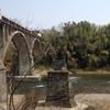 初代秩父橋の橋脚
