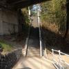 旧秩父橋の下へ