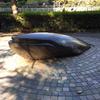 クジラのオブジェ