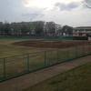 住宅街の中の野球場