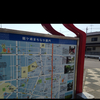 竜ケ崎駅前の案内図
