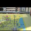 土浦駅西口の案内板