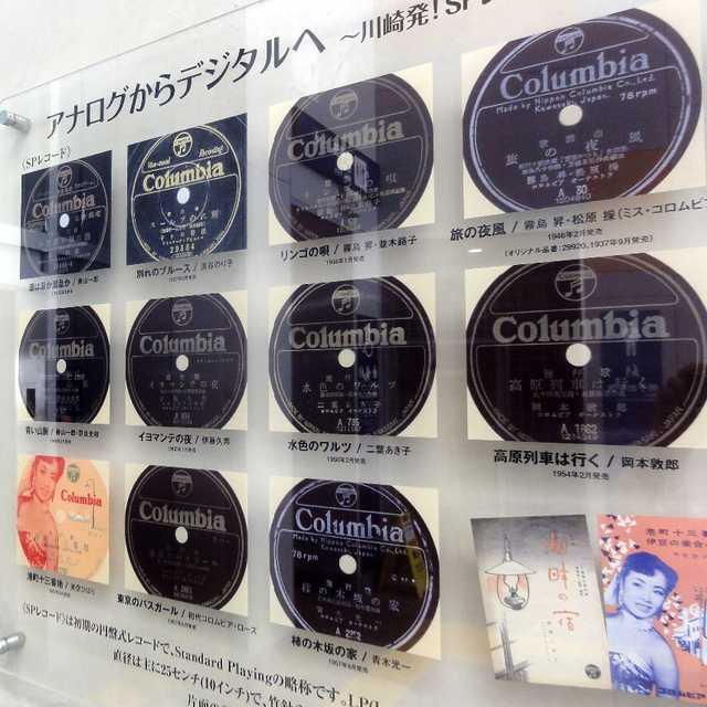 日本のレコード製造発祥の地