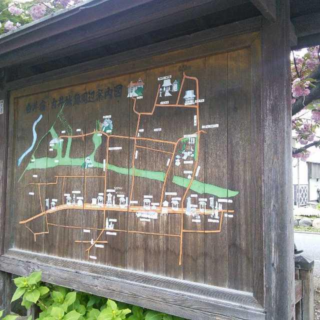 白井城跡周辺案内板