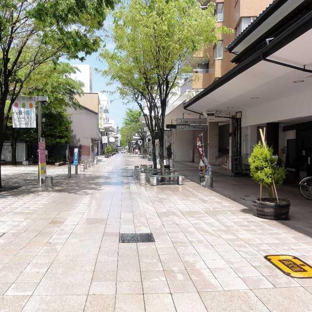 江戸時代から続く商店街