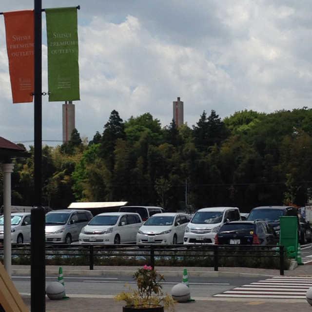 二つ並んだ塔
