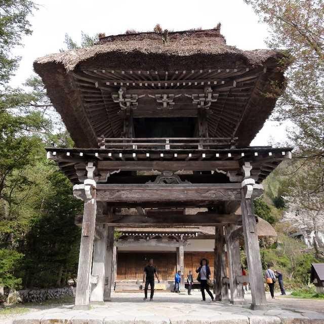 明善寺鐘楼門