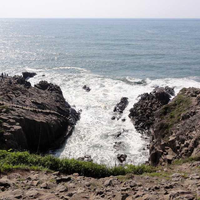 東尋坊の断崖絶景