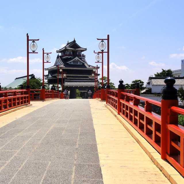 大手橋と清洲城