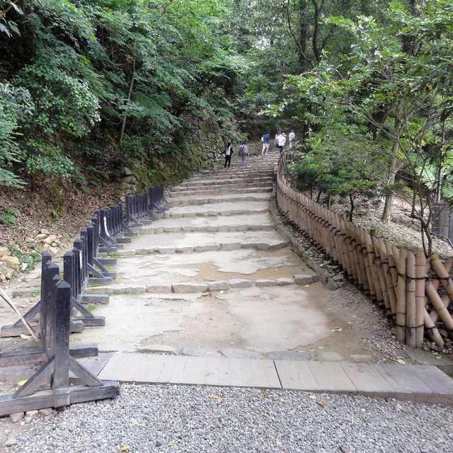 彦根城表門山道