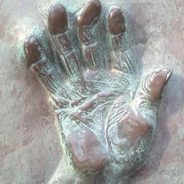 120歳の手形