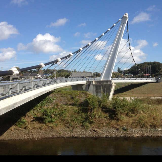 境川の鷺舞橋