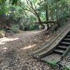 お堀の滑り台