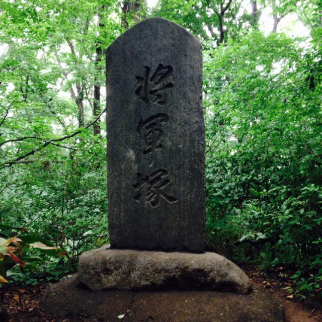 【八】八国山の将軍塚