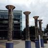 東久留米市役所の謎の円柱