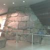 地下にも江戸城の石垣