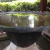 唐銅蓮葉形手洗水盤