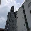道端の菩薩像