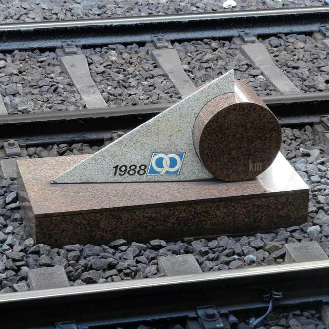 京急線0キロポスト