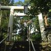 酢川温泉神社の鳥居で