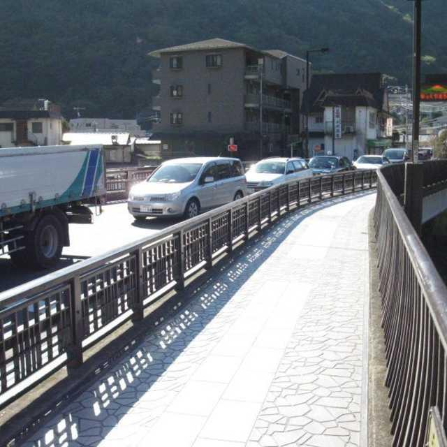 箱根の坂の入口