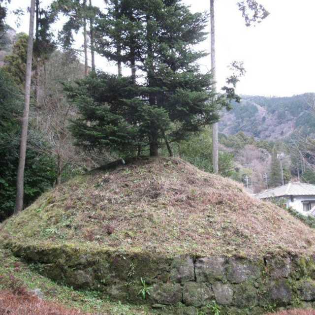 畑宿の一里塚