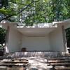 勾当台公園のステージ