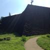 仙台城本丸北壁石垣