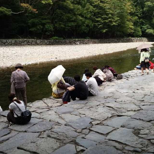 五十鈴川の御手洗場