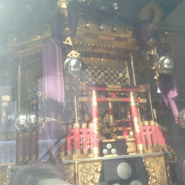 住吉神社の八角神輿
