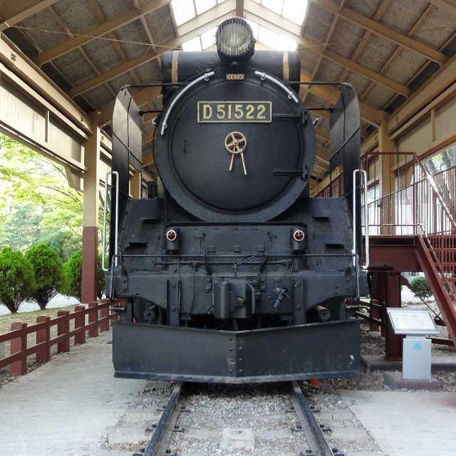 D51-522機関車