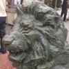ライオンの募金箱