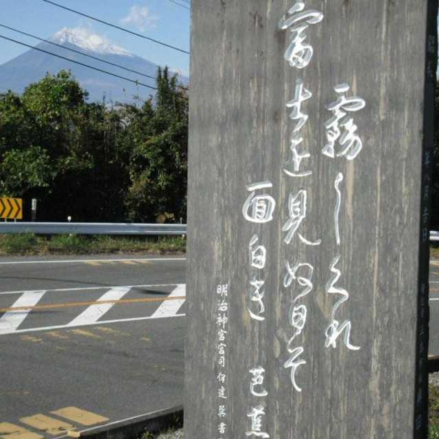 富士を見ぬ日ぞ面白き