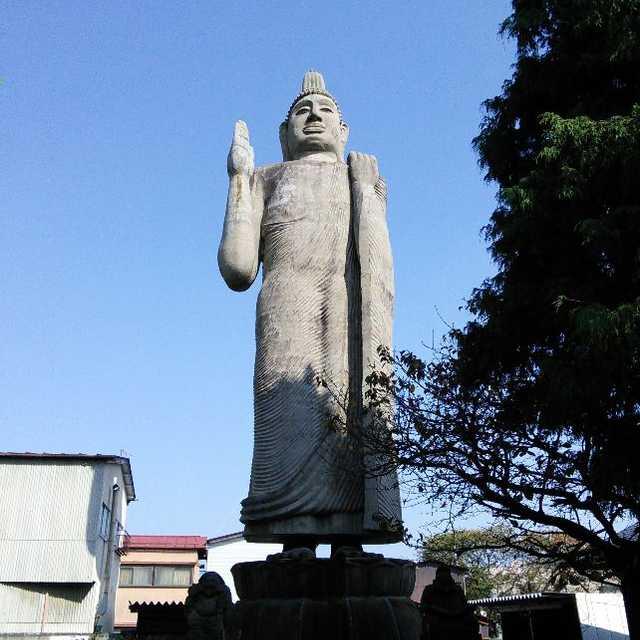 清林寺のアウカナ仏像
