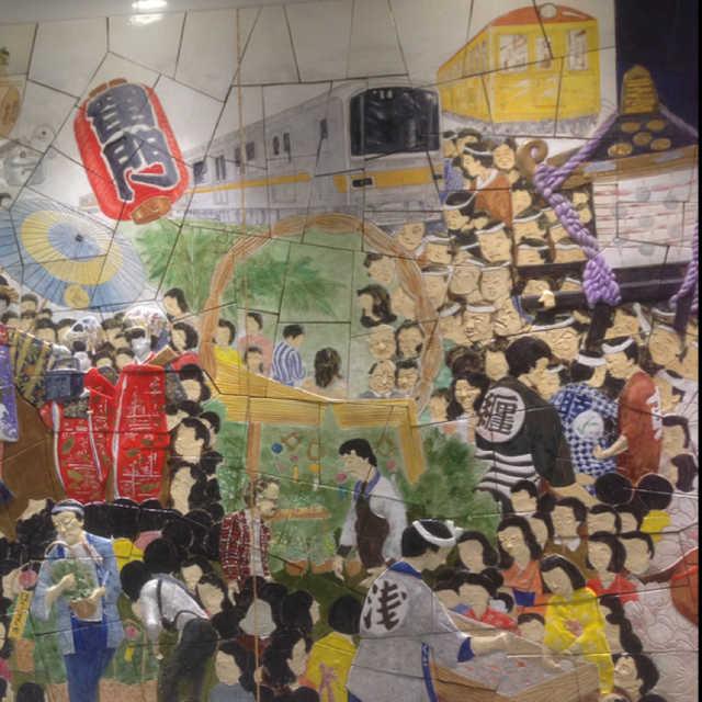 壁画の広場