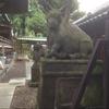 狛牛のいる神社
