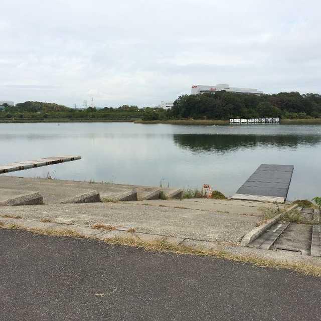 ボート競技用の桟橋