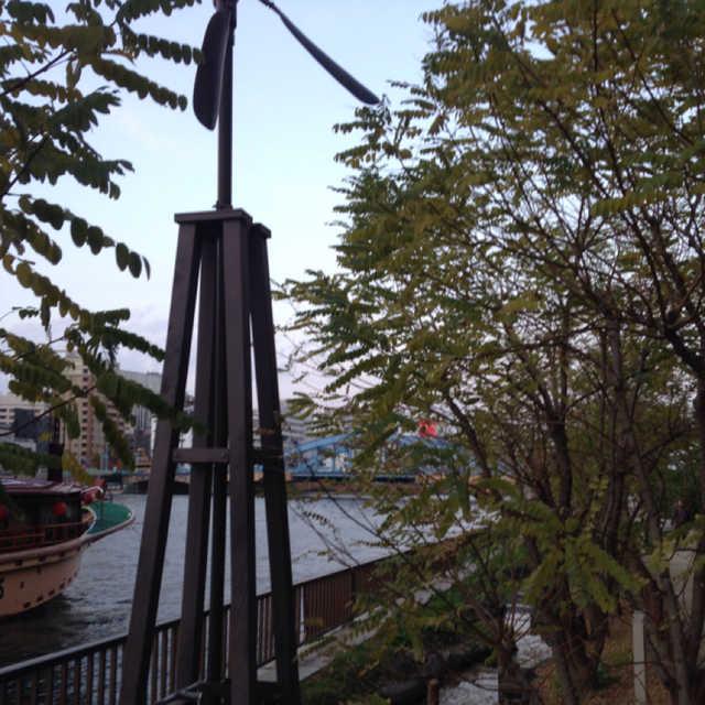 風車式ポンプ