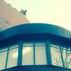 屋根の上に人影(^^)